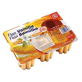 DIA Flan de vainilla Pack 6 unidades 100 gr