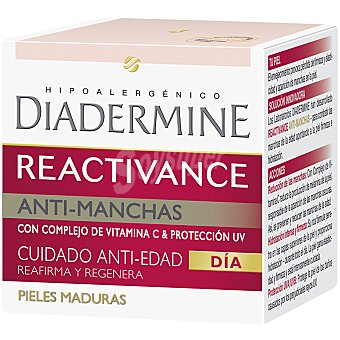 Diadermine Reactivance crema facial de día antiedad total tarro 50 ml Tarro 50 ml