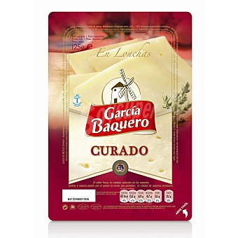 García Baquero Queso en Lonchas Curado 125 g