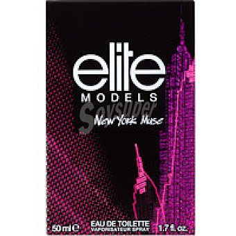 Elite Colonia para mujer New York Frasco 50 ml