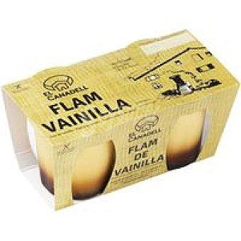 CANADELL Flan de vainilla Pack 2x105 g