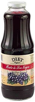 Diet Rádisson Mosto de uva negra botella 1 l 1 l