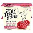 Yogur light&free con Frambuesa Pack 4 x 115 gr Danone