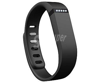 Fitbit flex Pulsera fitness medidora de actividad diaria FB401BK Negra, monitoriza: los pasos, minutos activos, distancia recorrida, calorías quemadas, horas que se han dormido y la calidad del sueño. Alarma silenciosa