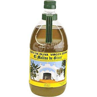 EL MOLINO DE GINES Aceite de oliva virgen extra bidon 2 l