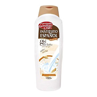 Instituto Español Gel de baño natural con leche y avena 1250 ml