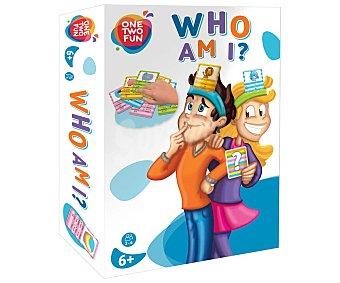 ONE TWO FUN ALCAMPO Juego de mesa infantil de estrategia y memoria ¿quién Soy?, de 2 a 4 jugadores alcampo