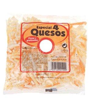 Liberty Queso rallado 4 quesos Bolsa de 150 g