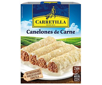 Carretilla Canelones de carne 375 g
