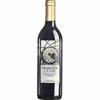 FAVARITX Vino Tinto De La Tierra de Menorca Botella 75 cl
