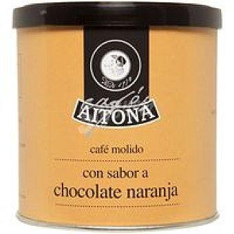 AITONA Café molido aroma chocolate-narana lata 100 g