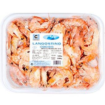 Compesca Langostino cocido 30/40 piezas Bandeja 1 kg