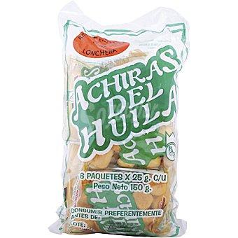 Achiras del Huila Snack sabor a queso Bolsa 150 g