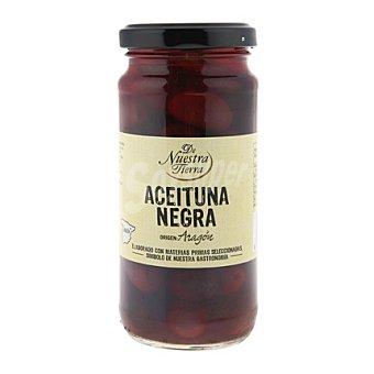 De nuestra tierra Aceitunas negras de Aragón 135 g