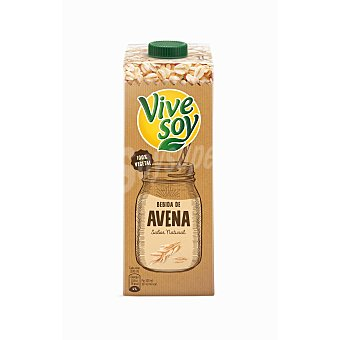Vivesoy Bebida de avena 100% vegetal Pielvital envase 1 l