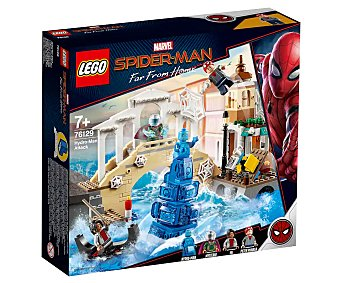 LEGO Marvel Spiderman 76129 Juego de construcciones Ataque de Hydro-Man con 471 piezas, Marvel Spiderman Far From Home 76129 lego.