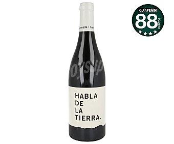Habla de la Tierra Vino tinto crianza con denominación de origen Extremadura Botella de 75 cl