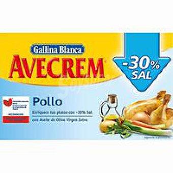 Avecrem Gallina Blanca Bajo en sal pollo 18 pastillas