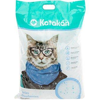Katakán Perlas absorbentes para gatos envase 16 l