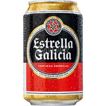 Estrella Galicia Cerveza special Lata 33 cl