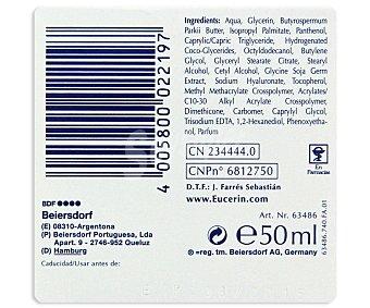 Eucerin Crema facial rellenador de arrugas Hyaluron Filler para la noche Tarro 50 ml