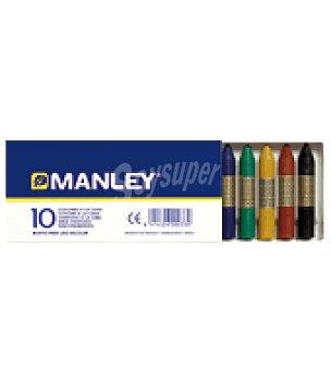 Manley Estuche 10 ceras