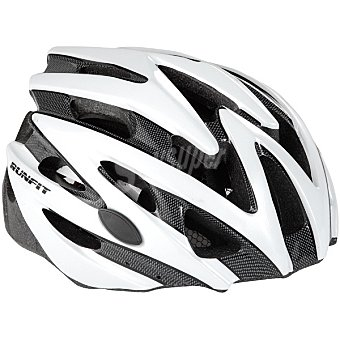 RUNFIT Outmold Casco adulto en color blanco y negro