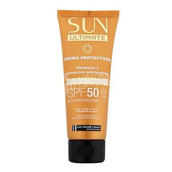 Les Cosmétiques Crema solar fácial FP 50 Sun Ultimate 75 ml