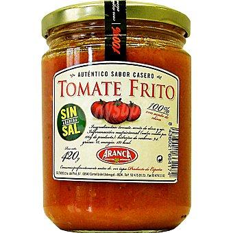 Aranca Tomate frito auténtico sabor casero sin sal Frasco 420 g neto escurrido