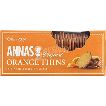 ANNA'S Original Orange Thins Galletas paquete 150 g