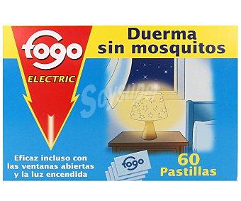 Fogo Recambio Aparato Antimosquitos Eléctrico 60 Pastillas