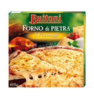 FORNO Pizza di pietra 3 formaggi 410 GRS