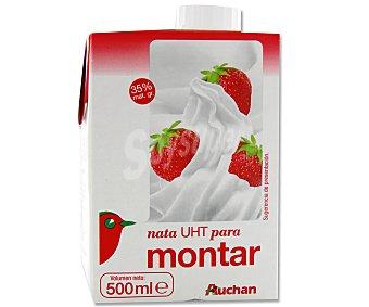 Auchan Nata para Montar Brik 500ml