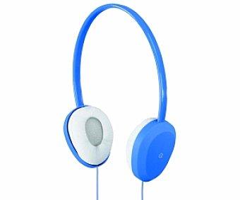 QILIVE IX 1209 Auriculares tipo Diadema Azul, con cable