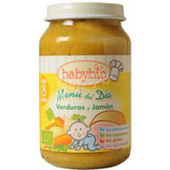 BABYBIO Potito de verdura-jamón 200 g