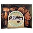 Cookies de chocolate Bandeja 150 g Natural biscuit