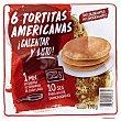 Tortitas americanas refrigeradas industriales Paquete 198 g (6 u)