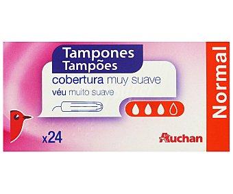 Auchan Tampones Normales 24 Unidades