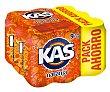 Refresco de naranja 9 latas de 33 cl Kas