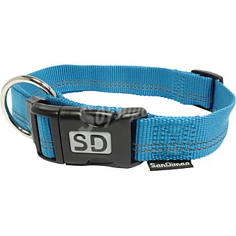 San Dimas collar de nylon color azul medida 20 mm 1 unidad
