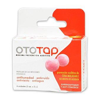 Ototap Tapones oído de cera moldeable 6 ud