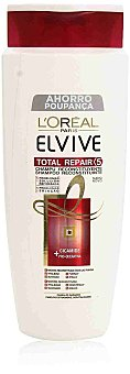 ELVIVE Champu Total Repair 5 reconstituyente con pro-queratina + ceramida para cabello dañado  frasco 700 ml