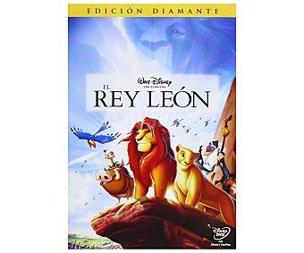 Disney El Rey León, 1994, edición diamante. Película Clásicos en Dvd. Género: infantil, familiar, animación. Edad. +6 años