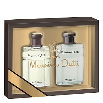 Massimo Dutti Colonia 100 ml. + After Shave 100 ml. 1 ud.