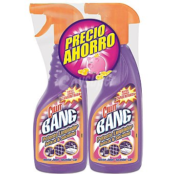 Cillit Bang Limpiador antical & suciedad pistola 750 ml Pack 2