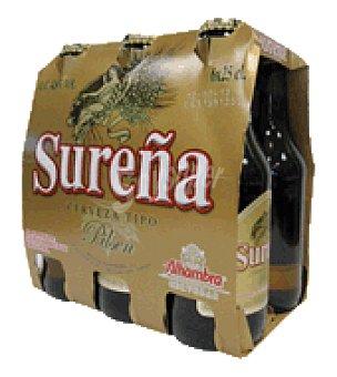 Sureña Cerveza Pack de 6x1,5 l
