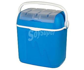 Curver Nevera rígida modelo Pop, con capacidad de 32 litros y fabricada en polipropileno de color azul, medidas: 42.8x33.3x41 centímetros 1 unidad