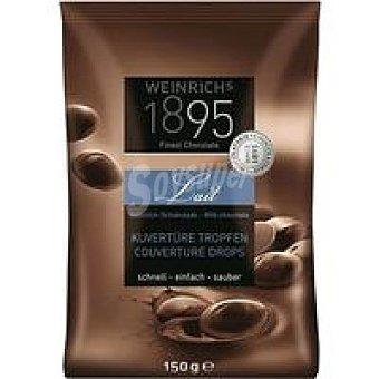 1895 Gotas de cobertura chocolate con leche extrafino 150 g