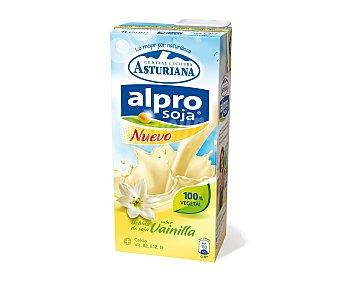Central Lechera Asturiana Alpro batido de vainilla Botella 1 litro
