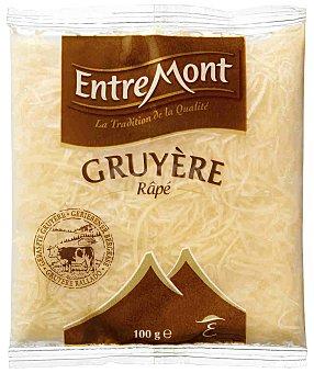 Entremont Queso rallado Gruyere Entremont Bolsa 100 g